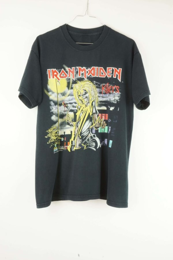 Iron Maiden Vintage T-Shirt 1990s Killers Tour