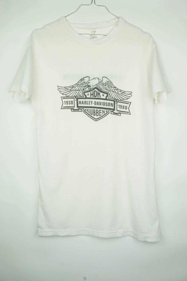 1980 Harley Davidson HDK Klubben Vintage T-Shirt