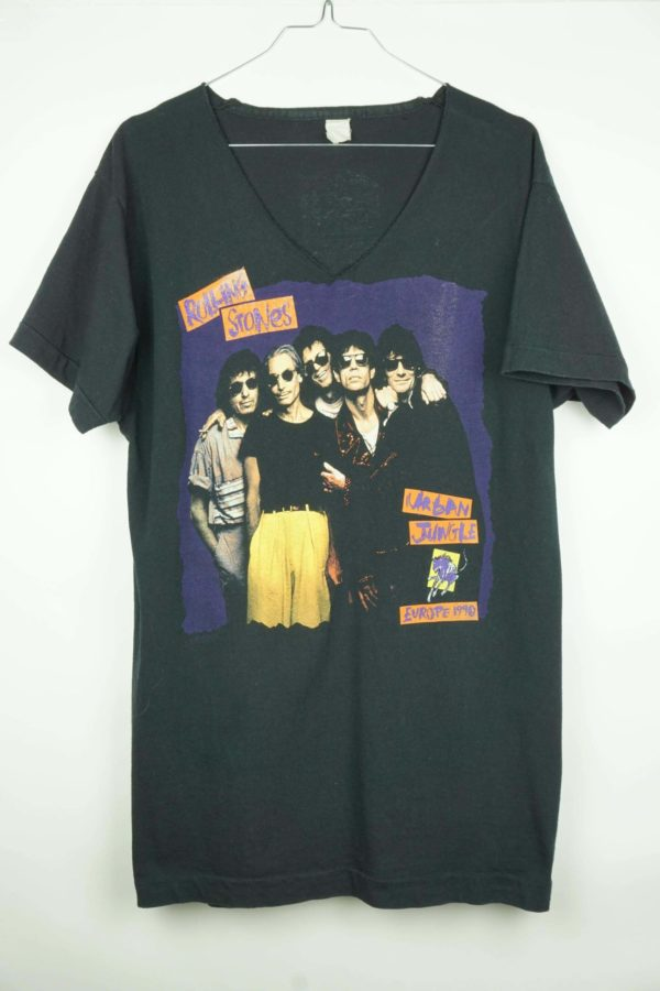 1990 Rolling Stones Urban Jungle Europe Vintage T-Shirt 2