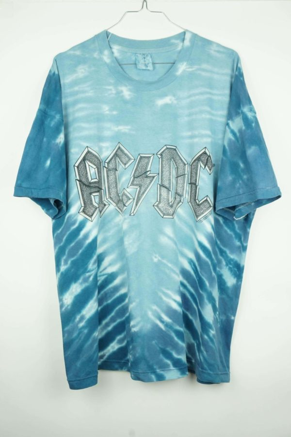 1996 ACDC Tie Dye Vintage T-Shirt 1