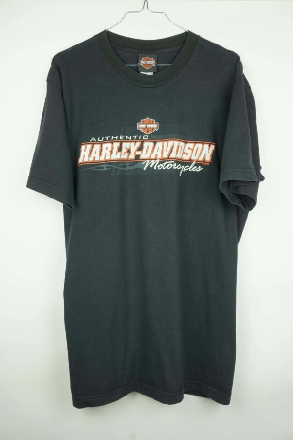 2008 Harley Davidson Authentic Motorcycles Vintage T-Shirt