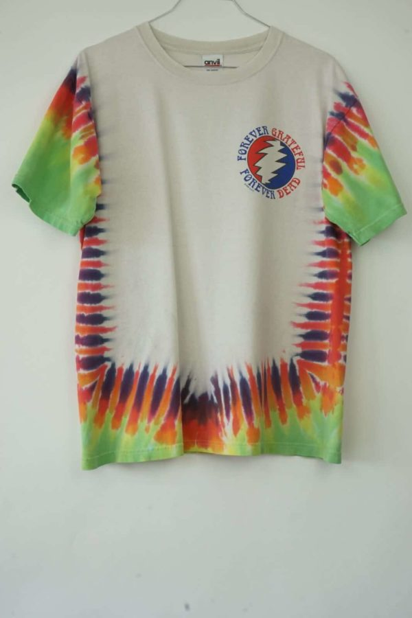 1998 Grateful Dead Forever Playin' Tie Dye Vintage T-Shirt