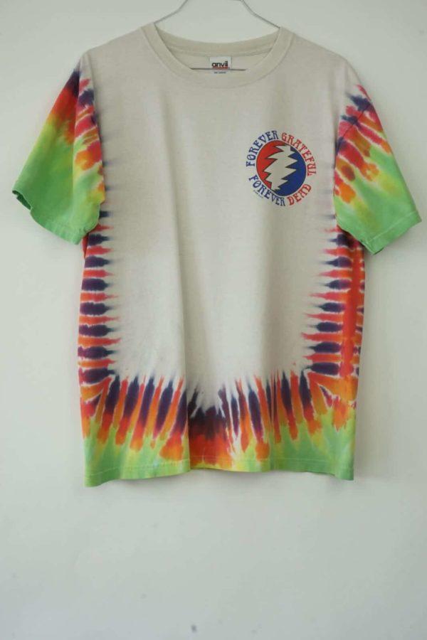 1998 Grateful Dead Forever Playin' Tie Dye Vintage T-Shirt