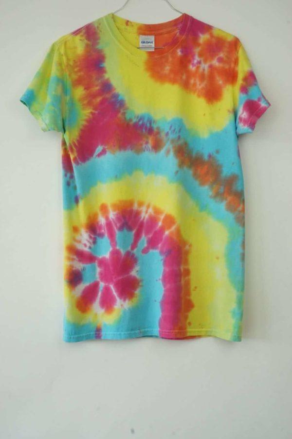 2000s All-Over Tie Dye Batik Vintage T-Shirt