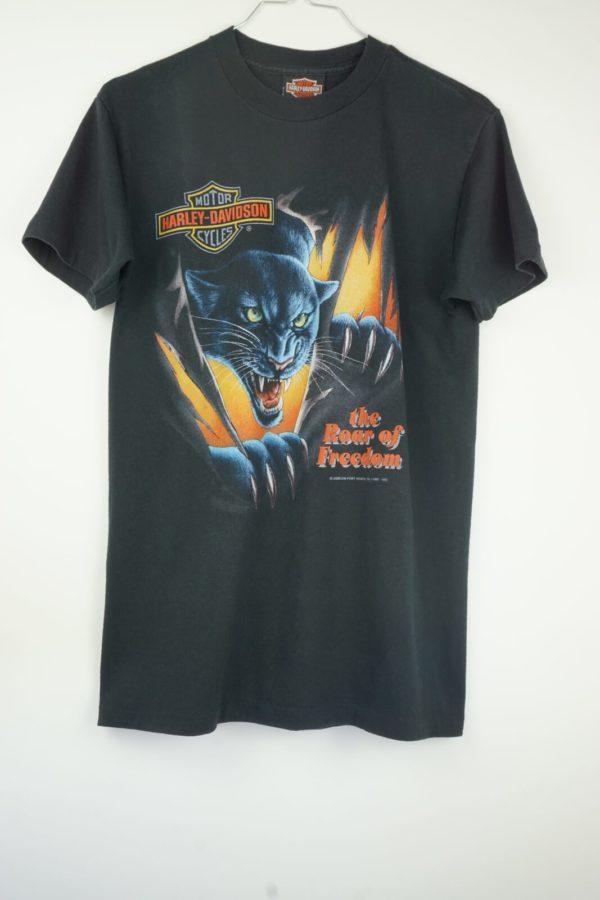 1992-harley-davidson-3d-emblem-the-roar-of-freedom-panther-vintage-t-shirt