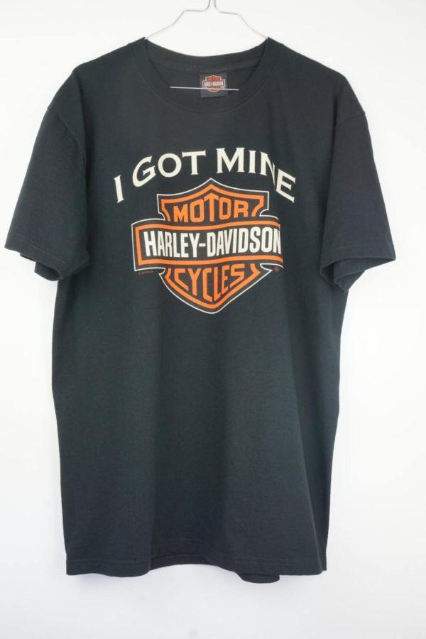 2010-harley-davidson-logo-hanau-germany-vintage-t-shirt front