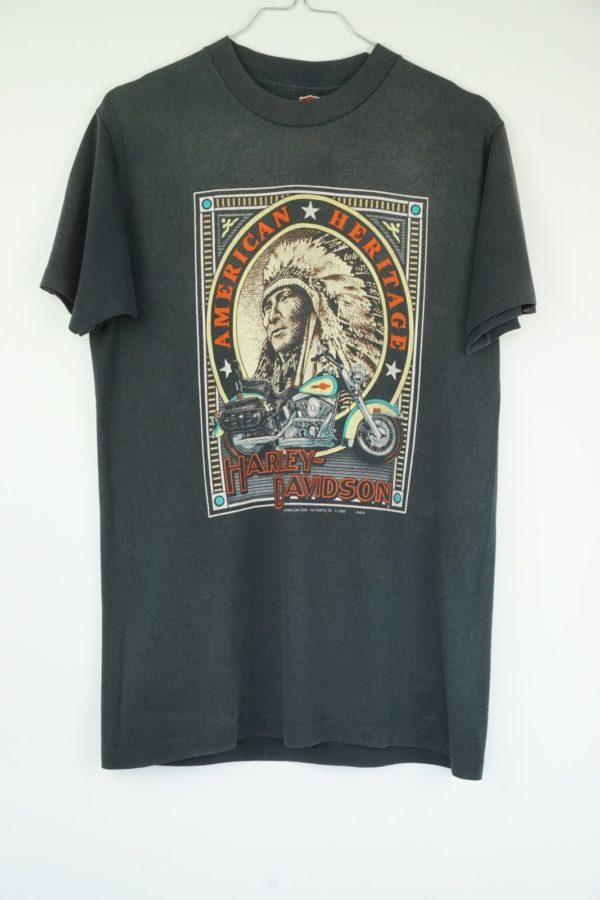 1992-Harley-Davidson-3D-Emblem-American-Heritage-Indianer-Vintage-T-Shirt