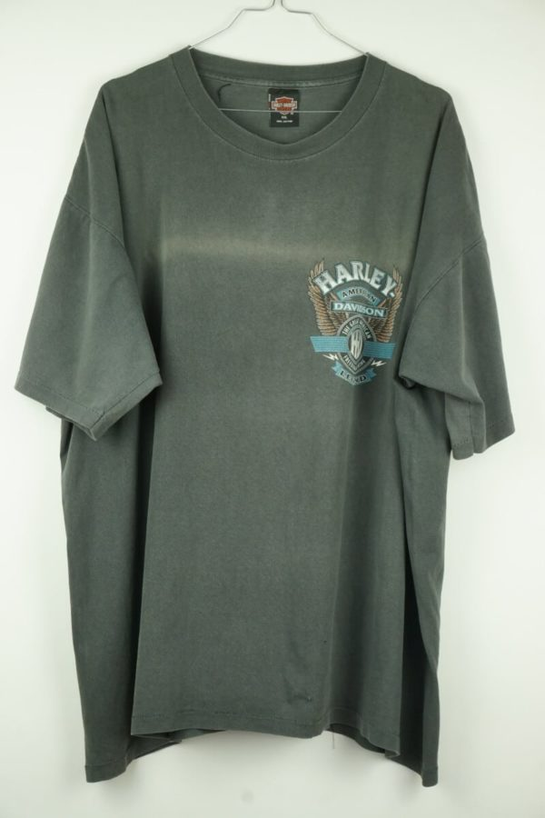 Original 1990s Harley Davidson Cologne Germany Vintage T-Shirt.