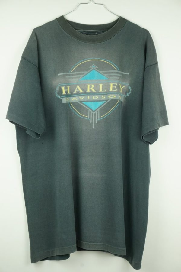Original 1990s Harley Davidson Rolling Thunder Fort Lauderale Florida Vintage T-shirt.