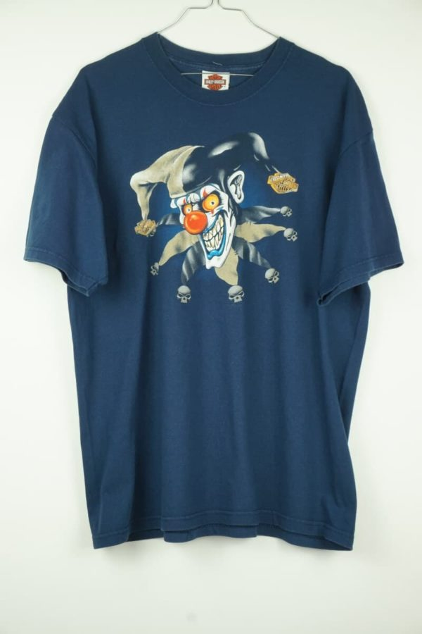 Original 1999 Harley Davidson Clown San Francisco Vintage T-Shirt.