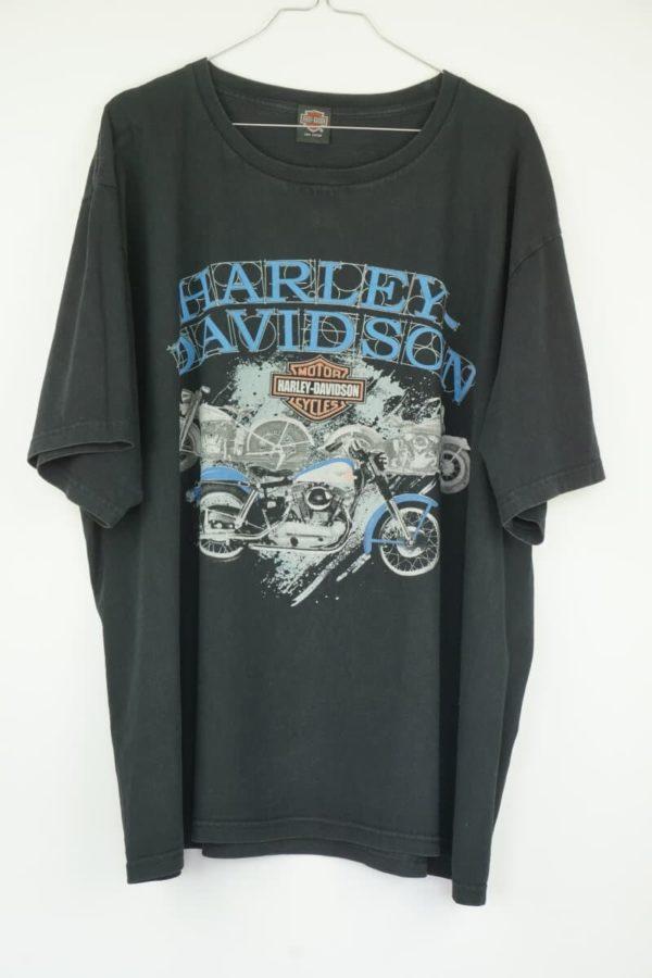 Original 2000 Harley Davidson Bikes Vintage T-Shirt.