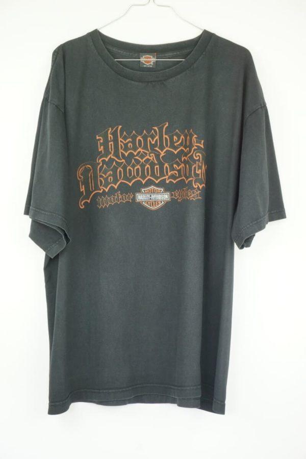 Original 2000s Harley Davidson Bangkok Thailand Vintage T-Shirt.