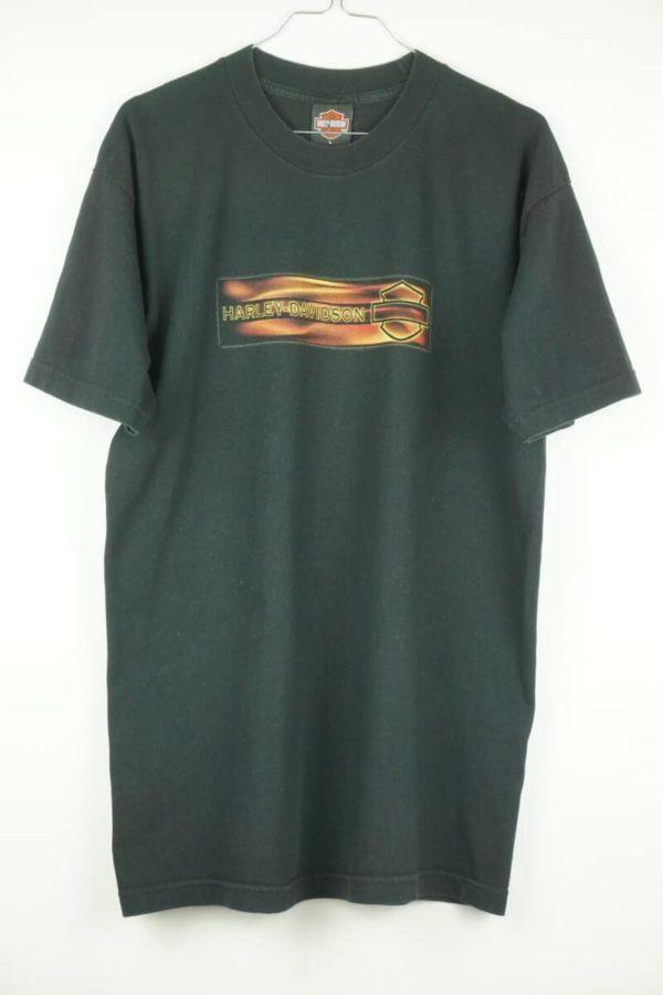 Original 2001 Harley Davidson Santa Cruz California Vintage T-shirt.