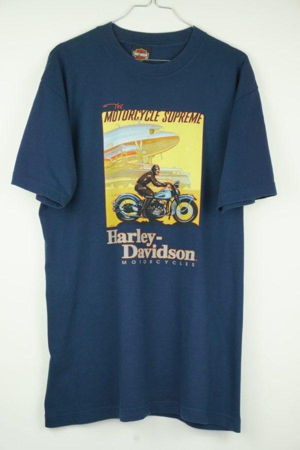 Original 2005 Harley Davidson Motorcycle Surpreme Louisville Kentucky Vintage T-Shirt.
