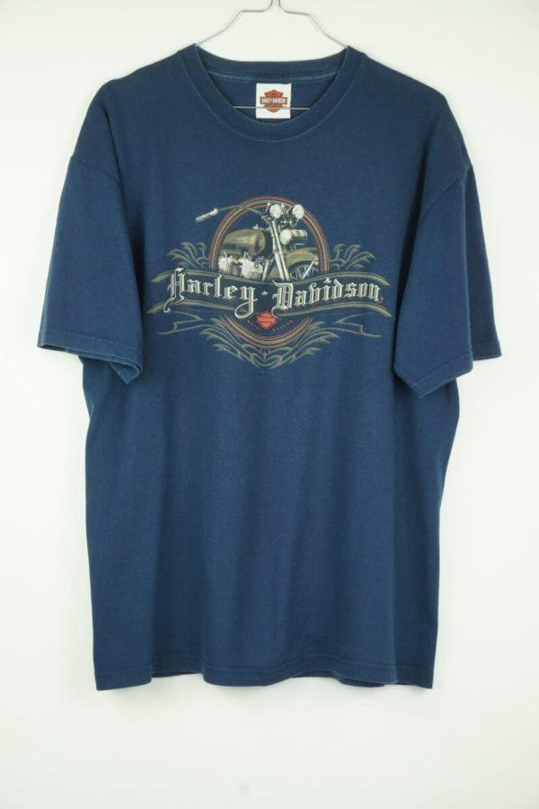 Original 2005 Harley Davidson Santa Cruz California Vintage T-Shirt.