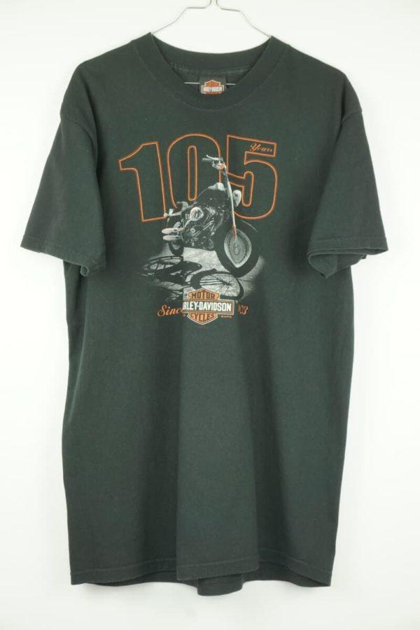 Original 2008 Harley Davidson 105 years Kokomo Indiana Vintage T-shirt.