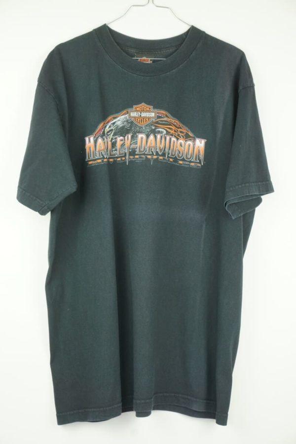 Original 2008 Harley Davidson Eagle Bruchmühlbach Germany Vintage T-shirt