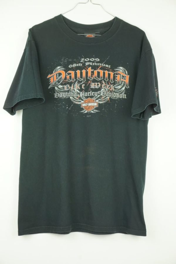 Original 2009 Harley Davidson Daytona Bikeweek Bruce Rossmeyer's Florida Vintage T-Shirt.