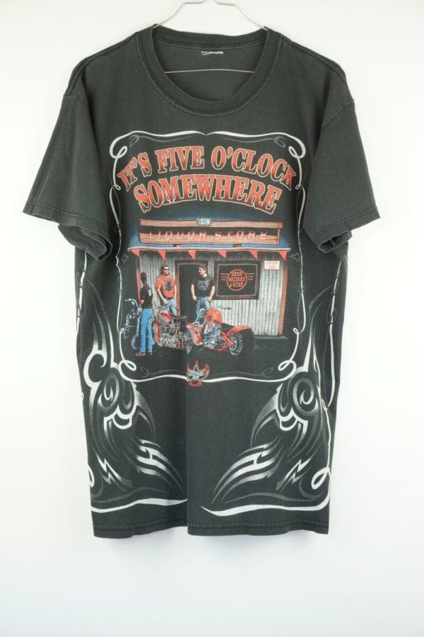 2000s-johnnys-liquor-store-its-five-oclock-somewhere-vintage-t-shirt