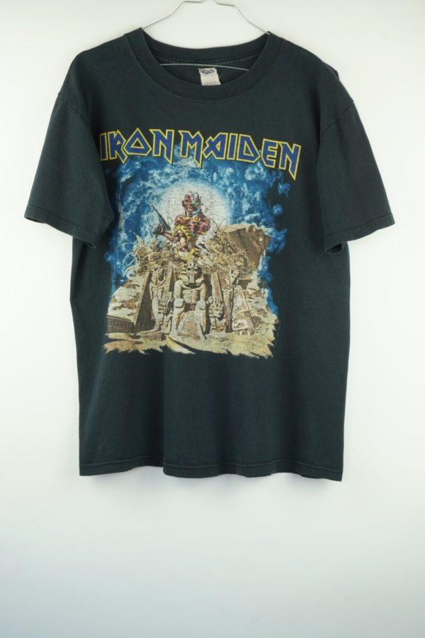 Original 2008 Iron Maiden Somewhere back in Time World Tour T-Shirt