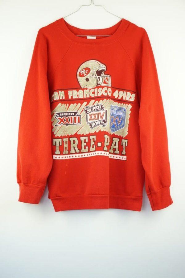 1990-nfl vintage-san-francisco-49ers-super-bowl-three-peat-vintage-sweatshirt