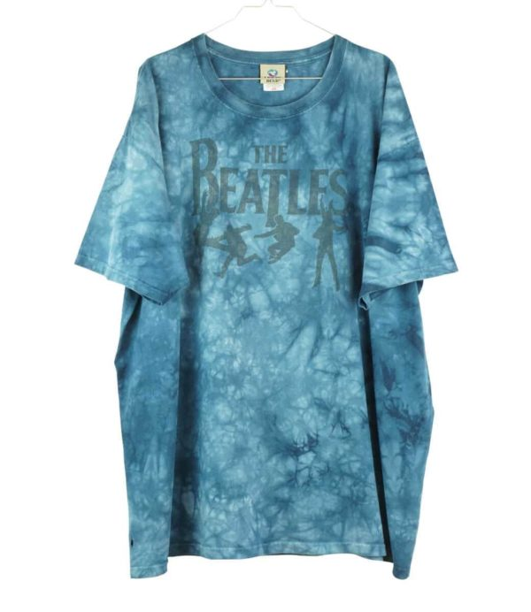 1990s-the-beatles-liquid-blue-tie-dye-vintage-t-shirt-1