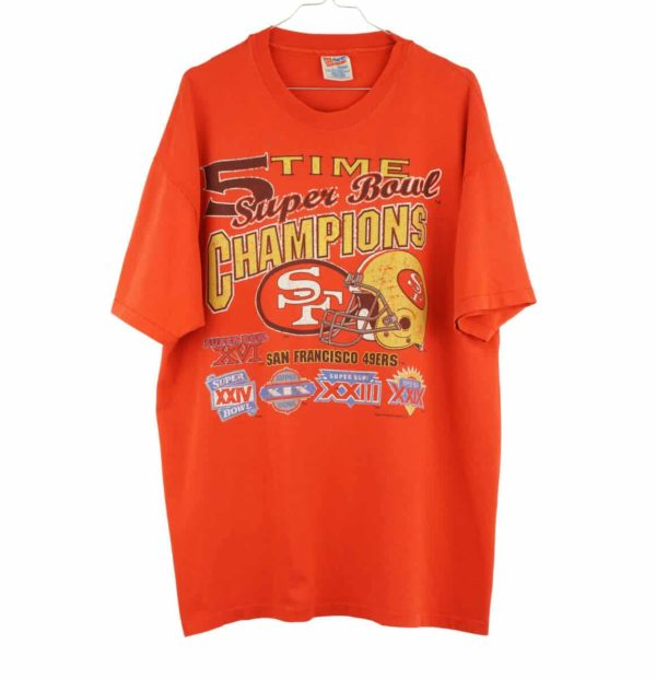 1995-nfl-san-francisco-forty-niners-5-time-champions-vintage-t-shirt