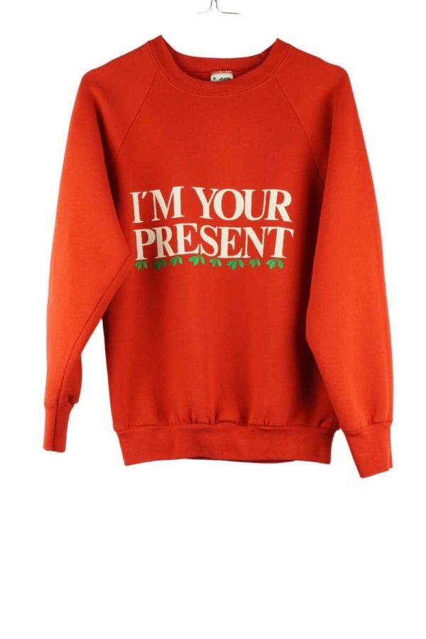1990s-im-your-present-christmas-vintage-sweatshirt
