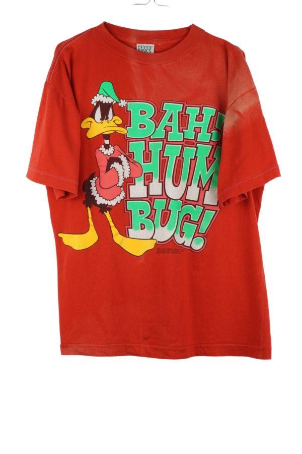 1992-warner-bros-christmas-daffy-duck-vintage-t-shirt