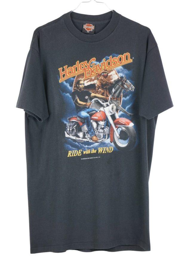 1991-harley-davidson-3d-emblem-ride-with-the-wind-biker-vintage-t-shirt