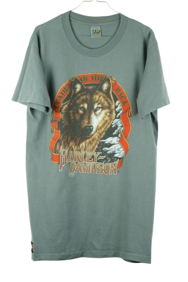 1991-harley-davidson-3d-emblem-wolf-leader-of-the-pack-sweden-vintage-t-shirt