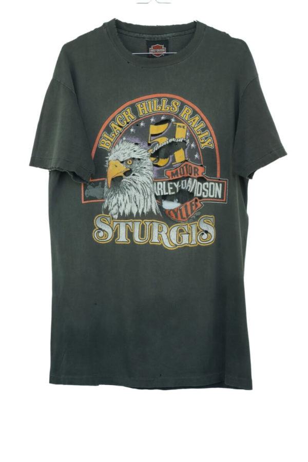 1991-harley-davidson-black-hills-rally-sturgis-51th-anniversary-vintage-t-shirt