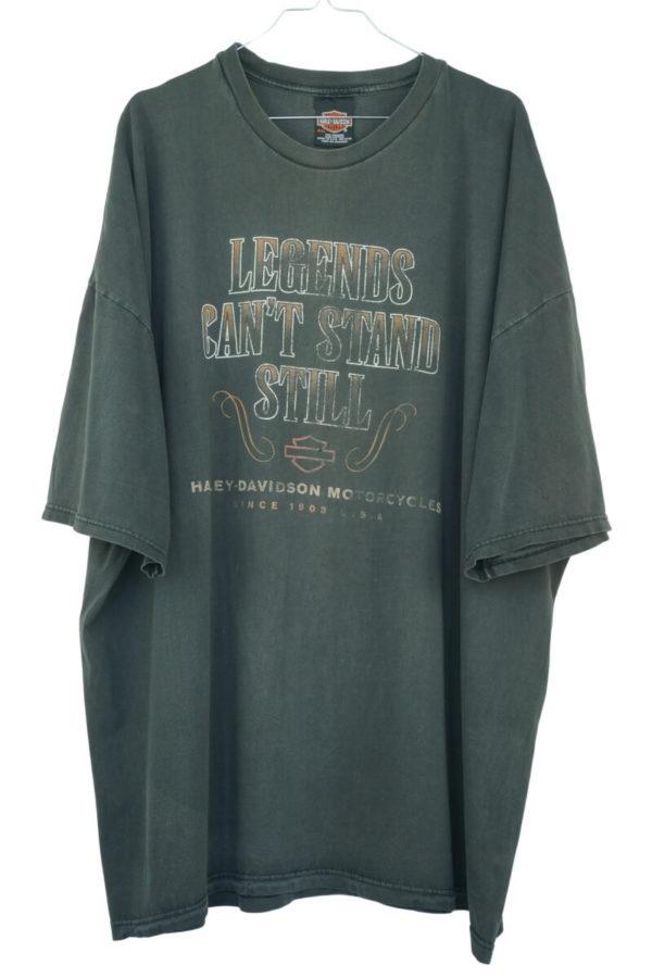 2000 Harley Davidson Legends Can't Stand Still Vintage T-Shirt
